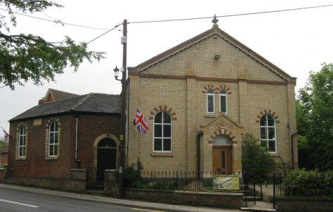 Audlem Primitive Methodist Chapel Cheshire