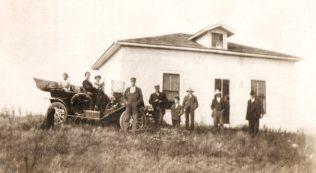 Abner's house.   Don Longacre. Descendant of   Abner