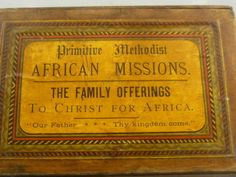 Africa Missions box.