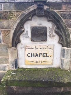 Date stone in millennium wall. | Rev. David Leese