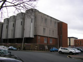 BT Building on the site of the chapel | G.W. Oxley