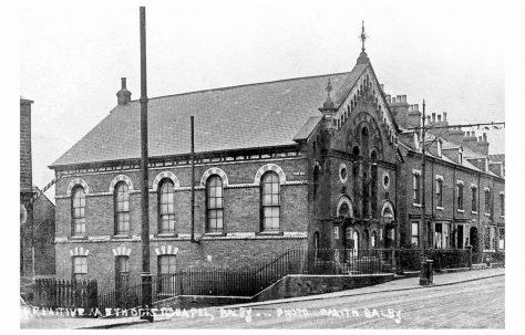 Doncaster; Balby Road Primitive Methodist chapel