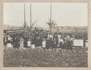 Laying 0f the foundation stone, 1912 | John Anderson