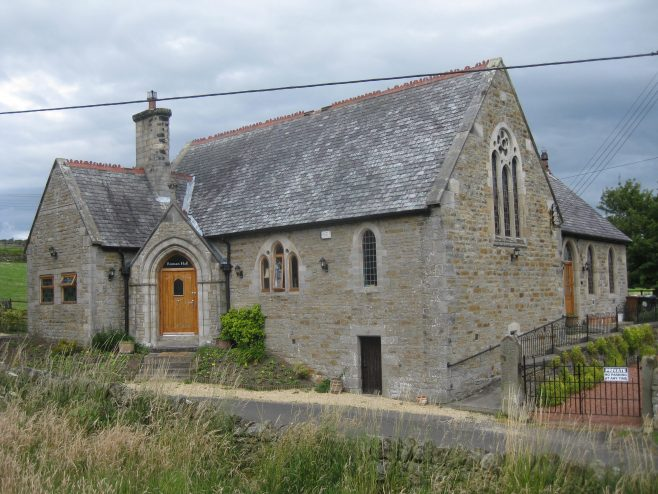 In August 2015 the chapel has been converted into a dwelling known as 'Roman Hall'. | Elaine and Richard Pearce
