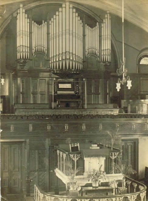 Interior, c1920 | postcard belonging to Steven Wild
