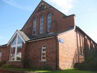 Barnton Lydyett Lane Primitive Methodist Chapel Cheshire