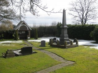 Bateman Memorial Chapel graveyard in 2013