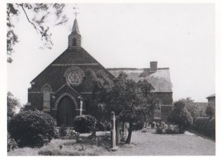 Bateman Memorial Chapel when still open