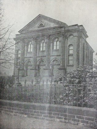 former Belle Vue Primitive Methodist chapel | Primitive Methodist Conference Handbook 1898; Englesea Brook Museum