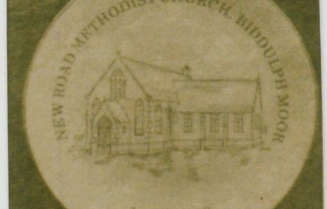 Biddulph Moor New Road Primitive Methodist chapel