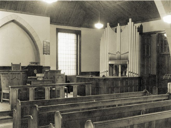 Interior, Wellfield Terrace PM Chapel, Bill Quay c1935 | Bede Circuit Archive Collections