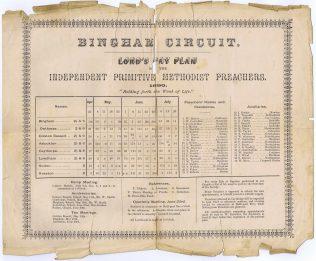 Bingham Circuit, 1890_Nottinghamshire