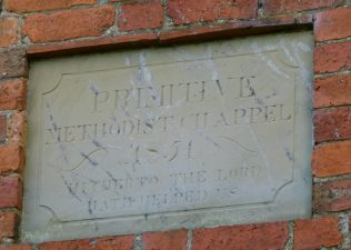 Birtley PM Chapel wall plaque | R Beck