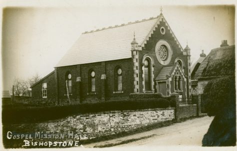 Bishopstone Primitive Methodist chapel