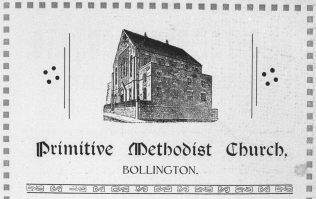 Photo 4. Bollington Primitive Methodist Church bazaar souvenir 20-23 October 1926.