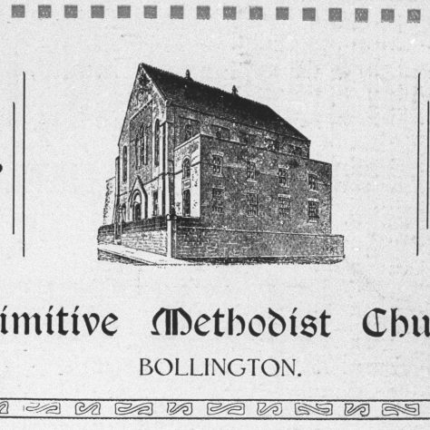 Photo 4. Bollington Primitive Methodist Church bazaar souvenir 20-23 October 1926.