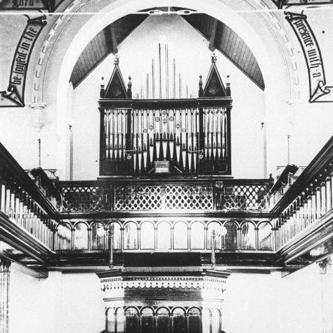 Photo 3. Interior of the Primitive Methodist Church.