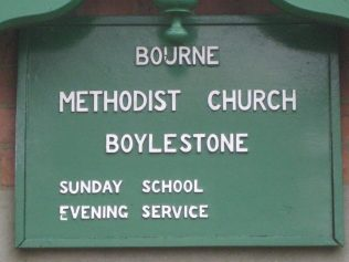 Boylestone Primitive Methodist Chapel Derbyshire