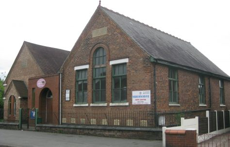 Crewe Bradfield Road Primitive Methodist Mission Room, Coppenhall
