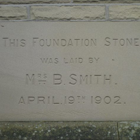 Photo No.7. Foundation stone | Elaine and Richard Pearce December 2016