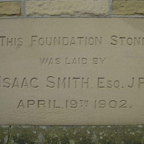 Photo No.8. Foundation stone