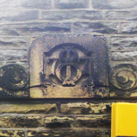 Photo No.3 Date plaque of 1877 for Sunday School | Elaine and Richard Pearce December 2016