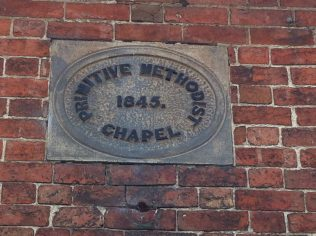 wall  commemoration, Brailsford Primitive Methodist chapel | Christopher Hill 2014