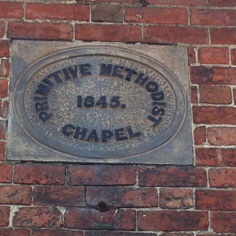 wall  commemoration, Brailsford Primitive Methodist chapel   Christopher Hill 2014