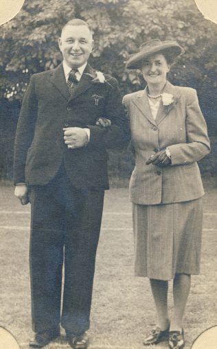 W.C Bramwell Hill and his wife, Nora Barnes | Hill family collection