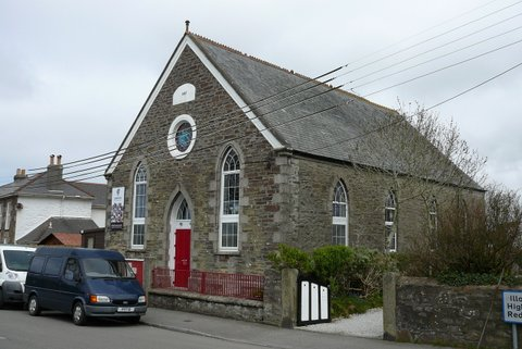Broad Lane Chapel which is still used as a church by a gosepl church group | Janet Bastion