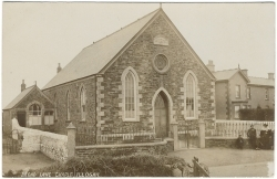 Broad Lane Primitive Methodist chapel as it was in 1900