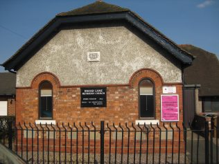 Nantwich Broad Lane Primitive Methodist Centenary Chapel, Cheshire