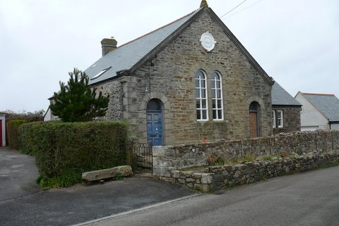 Old Sunday School building across the road from the Chapel | Janet Bastion