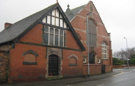 Brown Lees Primitive Methodist Chapel Near Biddulph Staffordshire