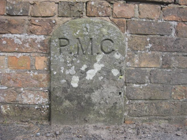 Is this plaque a boundary marker?