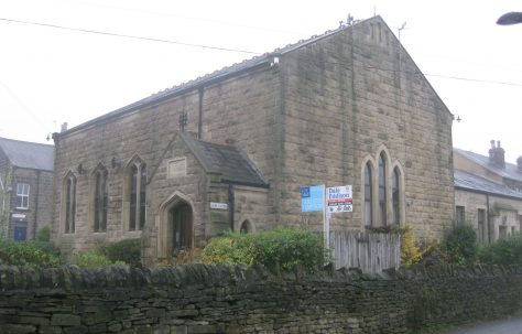 Burley in Wharfedale (Victoria Road) PM Chapel West Yorkshire