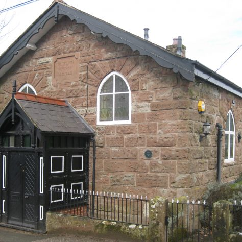Burwardsley Primitive Methodist Chapel, Cheshire | Photo taken by Richard Pearce
