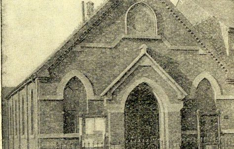 Swindon; Butterworth Street, Primitive Methodist chapel