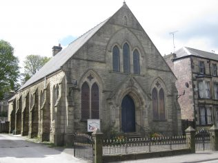 Buxton Primitive Methodist Chapel Derbyshire