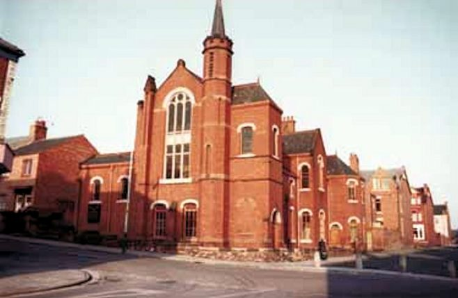 Baring St. PM Chapel, South Shields seen here in 1983 | Newcastle upon Tyne District Archives