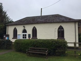 Former church/chapel: now village hall. | Rev. David Leese