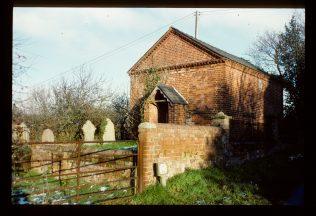 Cagebrook PM Chapel - 1990 | David Hill