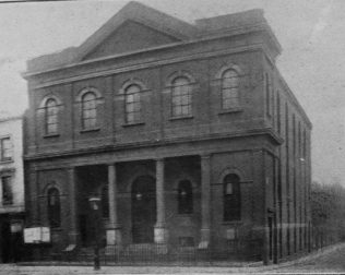 former Camden Town Primitive Methodist chapel | Handbook of the Primitive Methodist Conference 1908; Englesea Brook Museum