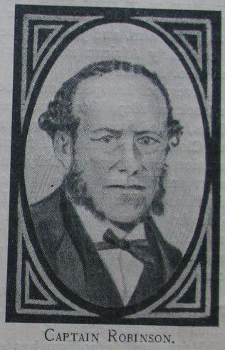 Captain Robinson | Handbook of the Primitive Methodist Conference 1923; Englesea Brook Museum
