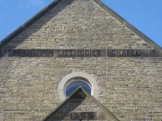 Photo 7. The 1902 Carleton PM Chapel name and date plaque