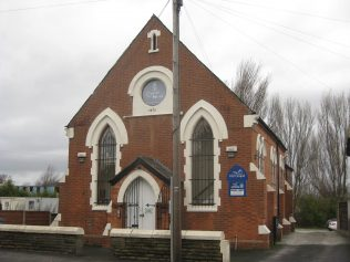 Carrington Primitive Methodist Chapel Cheshire