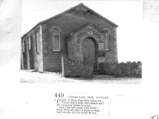 Charter Alley Primitive Methodist chapel, Hants