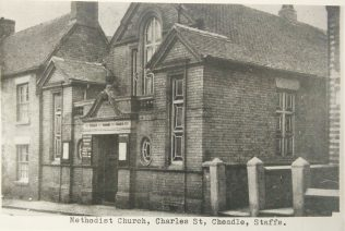 Photo 2. Cheadle Charles Street Primitive Methodist chapel | Englesea Brook Museum picture and postcard collection