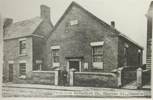 Photo 1. 1848 Cheadle Charles Street Primitive Methodist chapel | Englesea Brook Museum picture and postcard collection