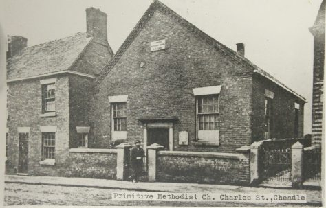 Cheadle Charles Street Primitive Methodist chapel
